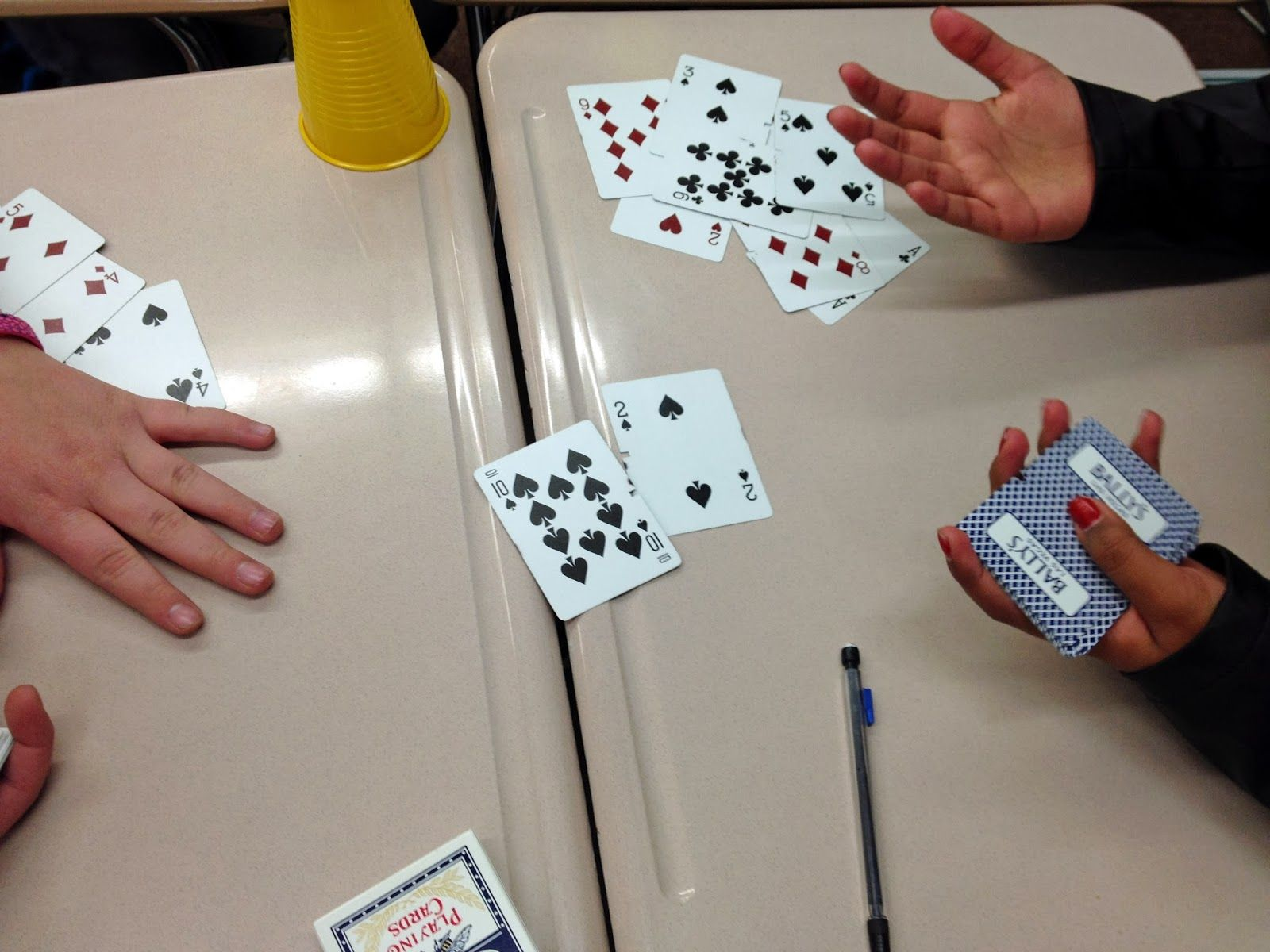 Controlling My Chaos Integer War Meets Bunco They Marry