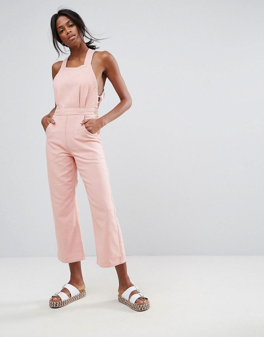 20620a24e3c6 Get this Asos s long jumpsuit now! Click for more details. Worldwide  shipping. ASOS