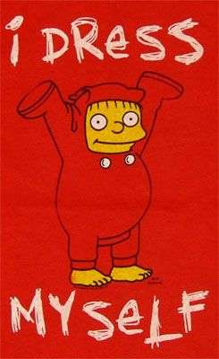 54afbde6 Ralph Wiggum - Simpsons T-shirt | Fashion | Ralph wiggum, Simpsons t ...
