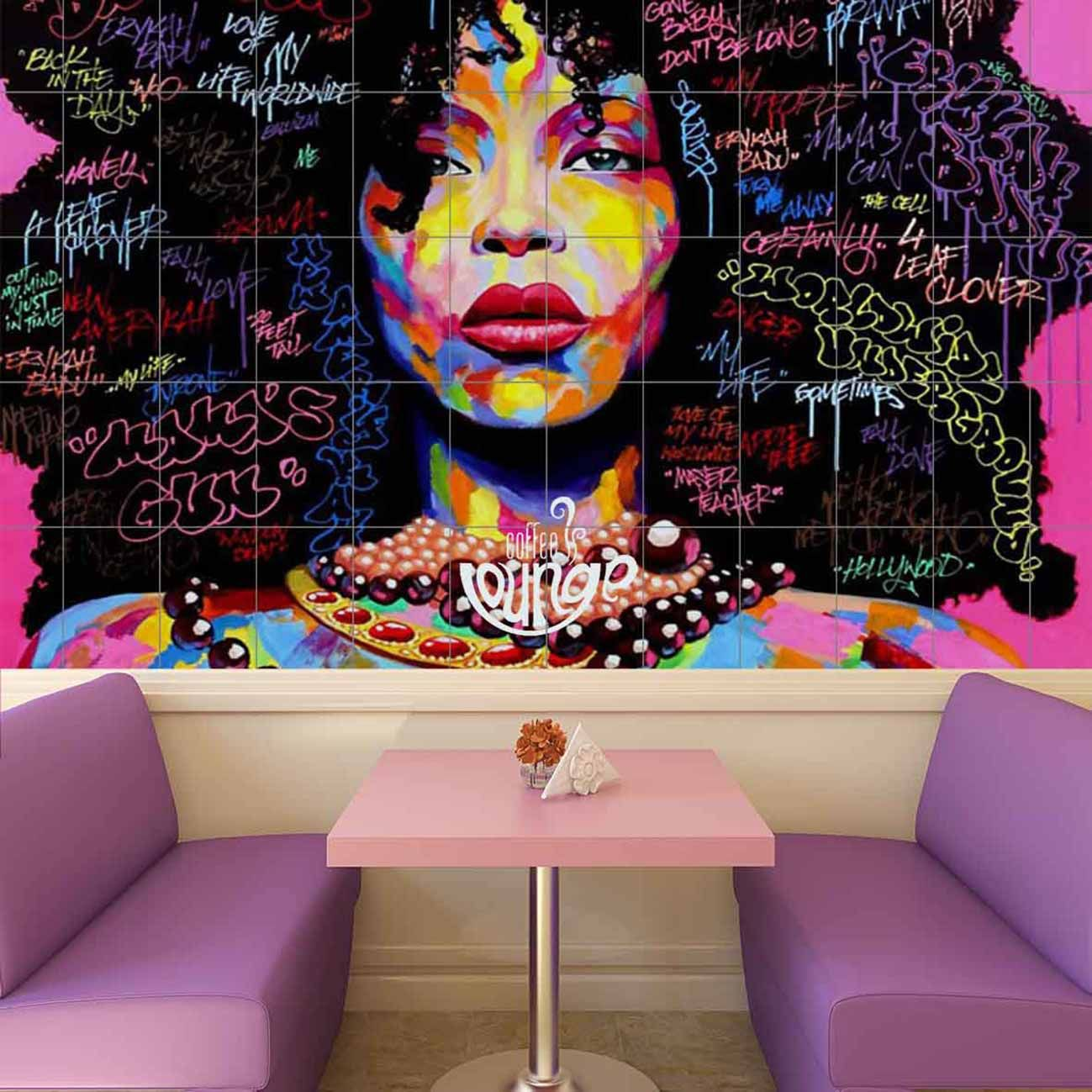 Carrelage imprimé aux couleurs Jazzys repenser votre façon de carreler, osez le carrelage personnalisé. Créer des ambiances sur mesure et attirez l'oeil de vos clients.