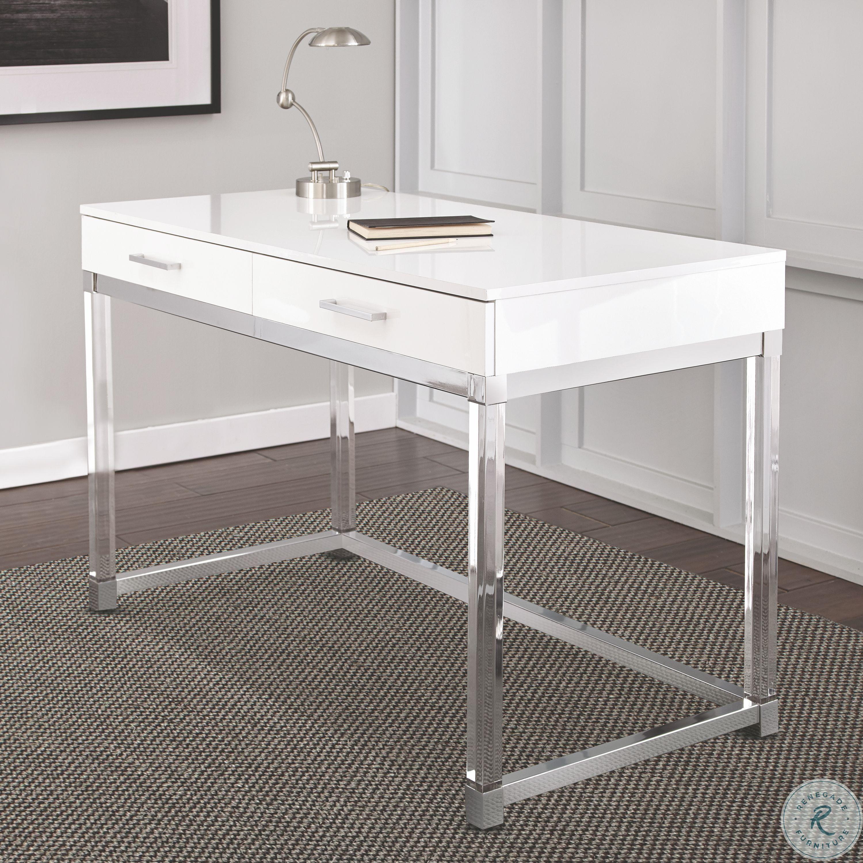 Everett White Desk