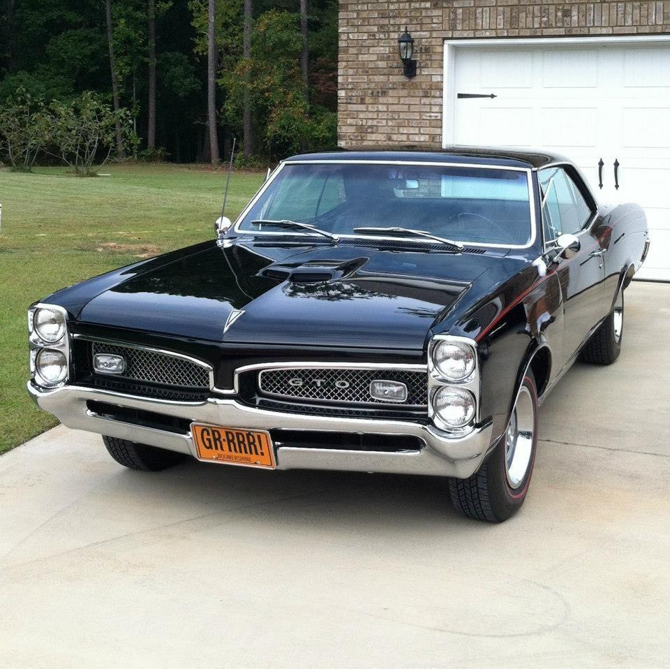 1966 Pontiac GTO … #musclecars | True Muscle Cars | Pinterest | Cars ...