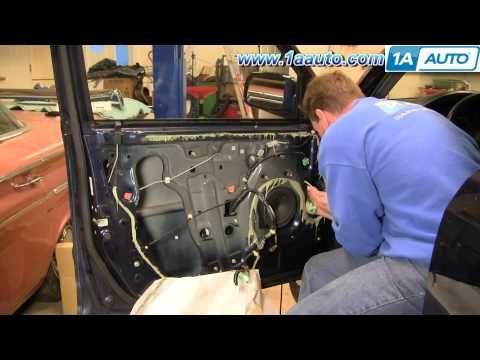 How To Install Replace Front Power Window Regulator Honda Cr V 02 06 1aauto Com Honda Cr Honda Repair Videos