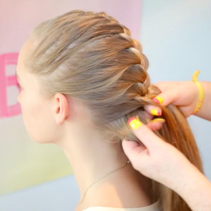 Video tutorial 1. How to: simple French braid | Braid Bar | Hardcore ...