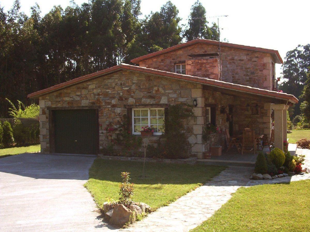 Publicaciones sobre construcciones de casas r sticas en galicia y asturias arreglos florales - Casas de campo en galicia ...