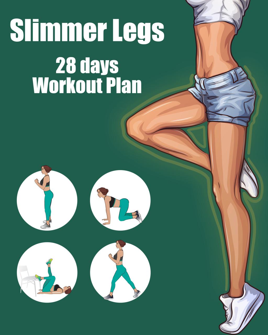Photo of 28-Tage-Trainingsplan für schlankere Beine