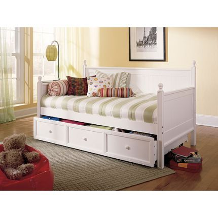 I liek the idea of day bed with trundle - guest room could do double ...