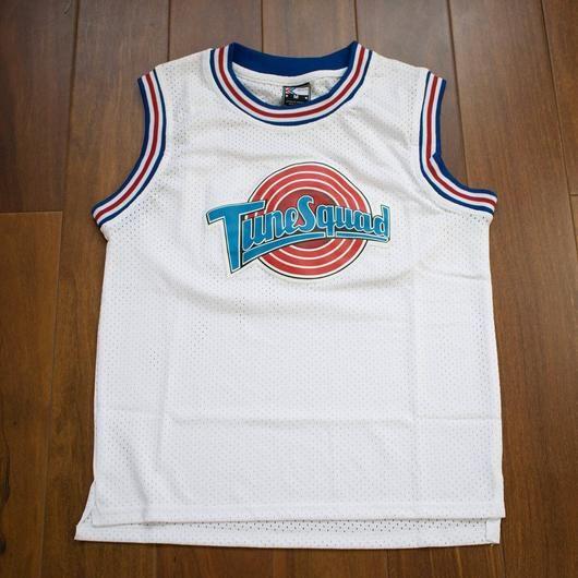 Michael Jordan #23 White Youth Space Jam Tune Squad Basketball S-2XL Kids Jersey
