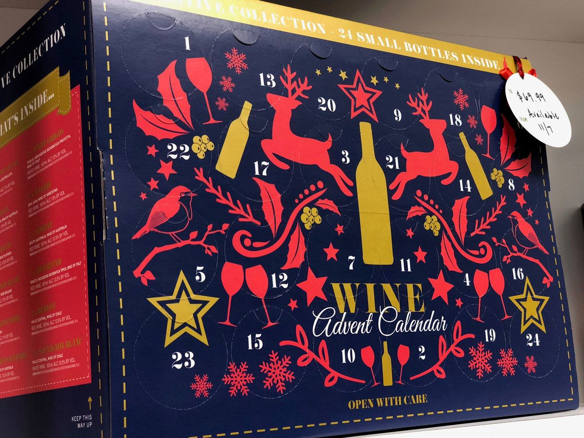 Aldi S Wine Advent Calendar Is Finally Coming To The U S Wine Advent Calendar Alcohol Advent Calendar Aldi Wine