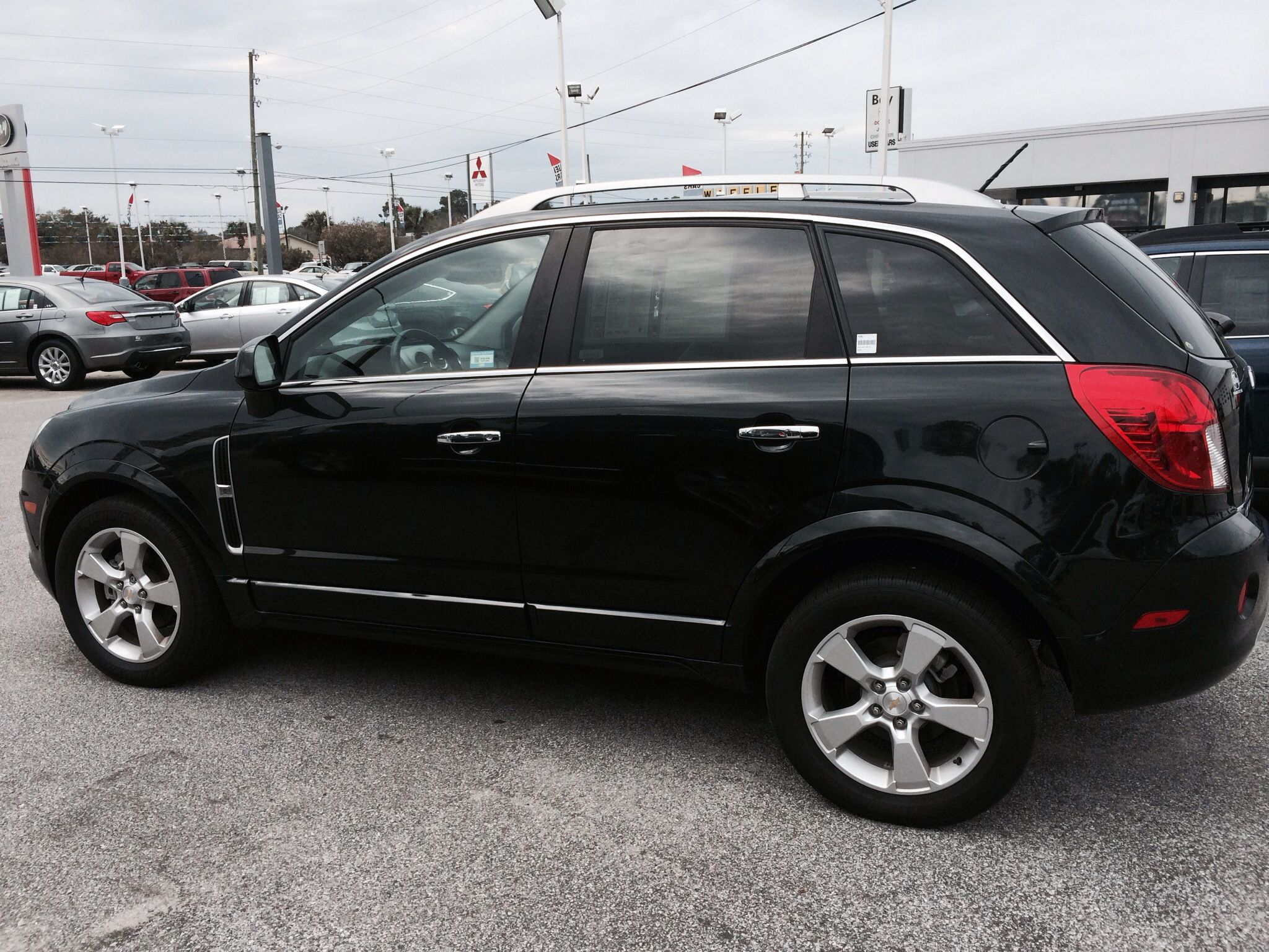 2013 chevy captiva sport ltz one owner less than 24k miles fully loaded including power. Black Bedroom Furniture Sets. Home Design Ideas