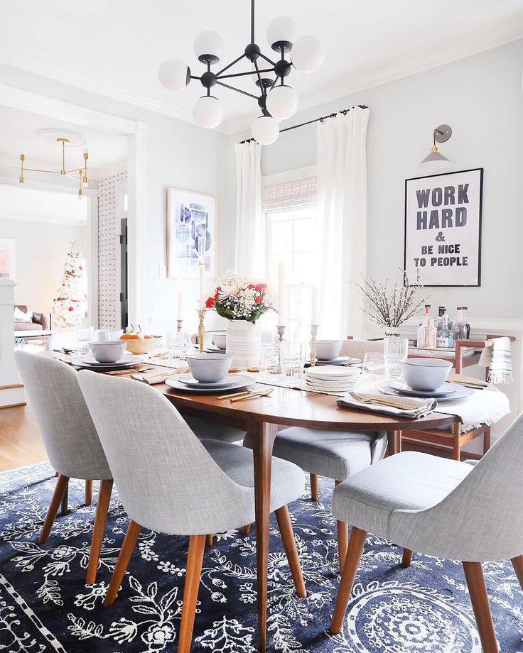 Mid Century Dining Room Designs: Dining Room - Mid Century Modern In 2019