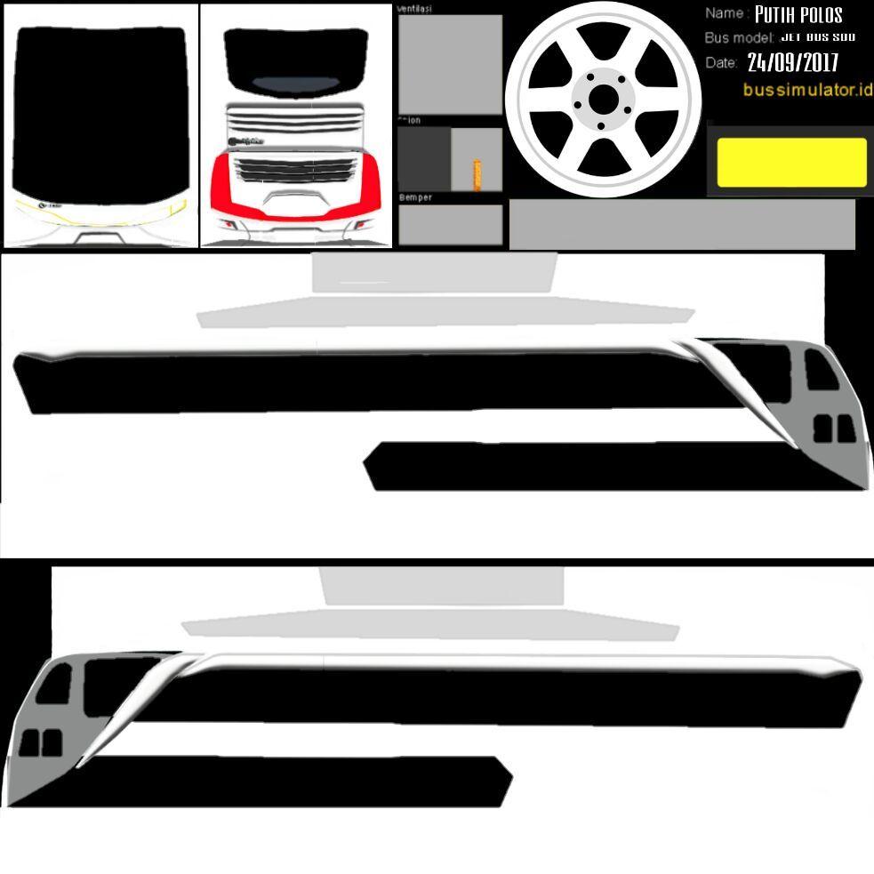 Kumpulan Livery Polos Bus Simulator Dari Berbagai Sumber Semua Aja Stiker Mobil Truk Besar Mobil Modifikasi