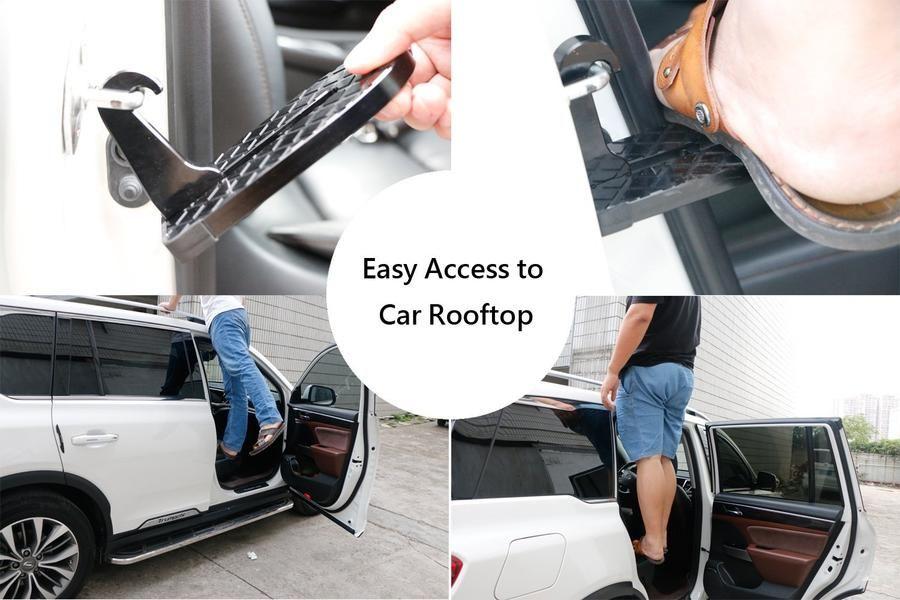 Vehicle Rooftop Doorstep Car accessories, Roof racks, Car