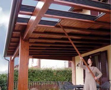 il bersò l'anima del legno. realizzazione porticati in legno ... - Pergola In Alluminio Gazebo In Legno