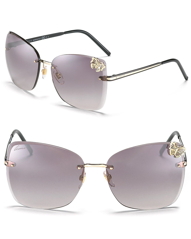 ca26b3f1def6 Gucci Butterfly sunglasses | Things I am loving | Sunglasses, Gucci ...