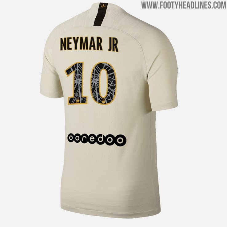 3074ed8b6 Special Nike Paris Saint-Germain 18-19 Away Kit Font Revealed - Footy  Headlines