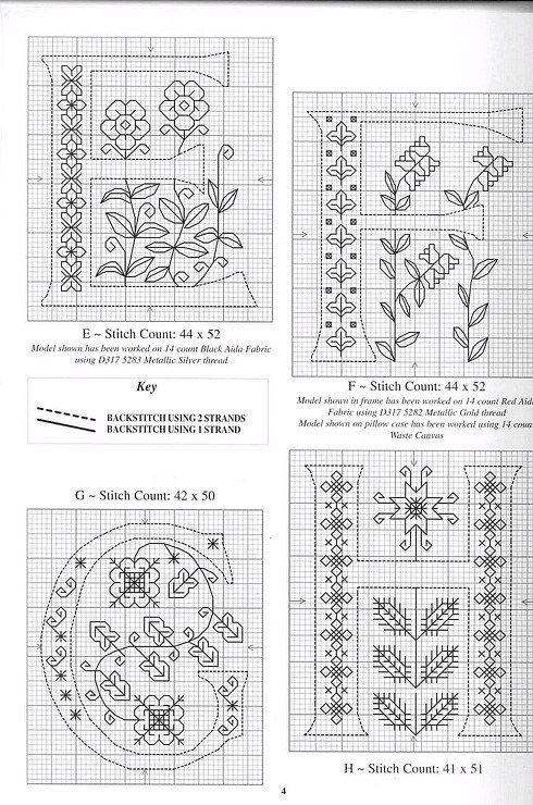 blackwork alphabet 2 | ABC | Pinterest | Bordado, Punto and Punto de ...