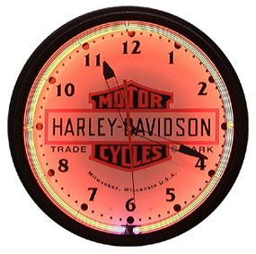 Harley davidson clock i also have a love for motorcycles for Horloge zodio
