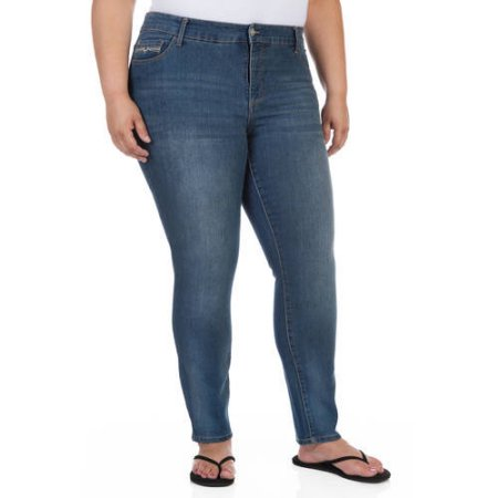 e9dee09c6c1 Faded Glory Women s Plus-Size Comfort Skinny Jeans
