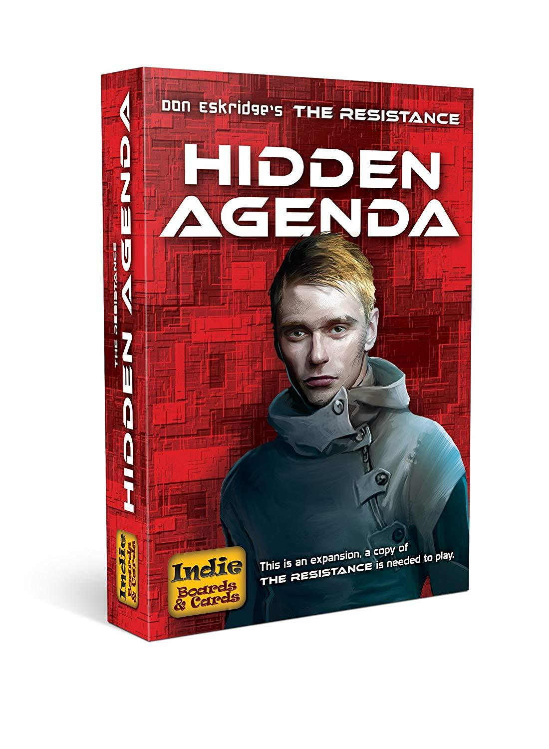 The Resistance Hidden Agenda Expansion in 2019 Card