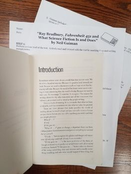 Mla book of essays