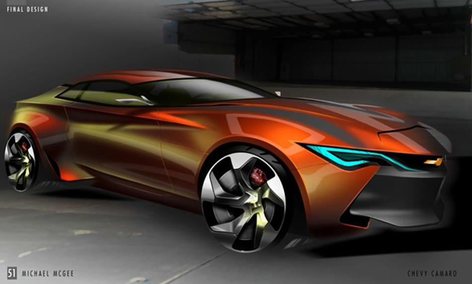 2016 Chevy Camaro Concept Dot Com