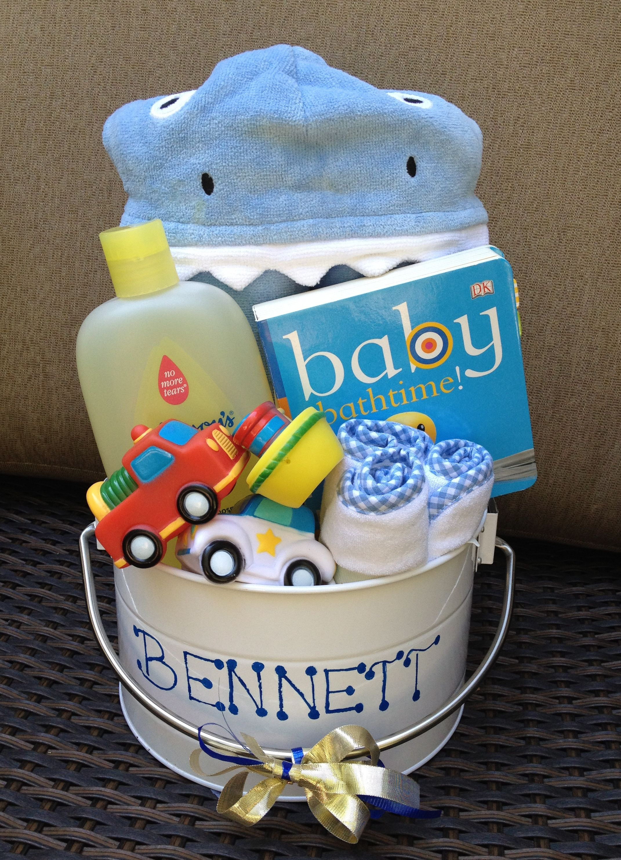 Baby Bath Bucket Perfect For Baby Shower Gifts For Boy Or