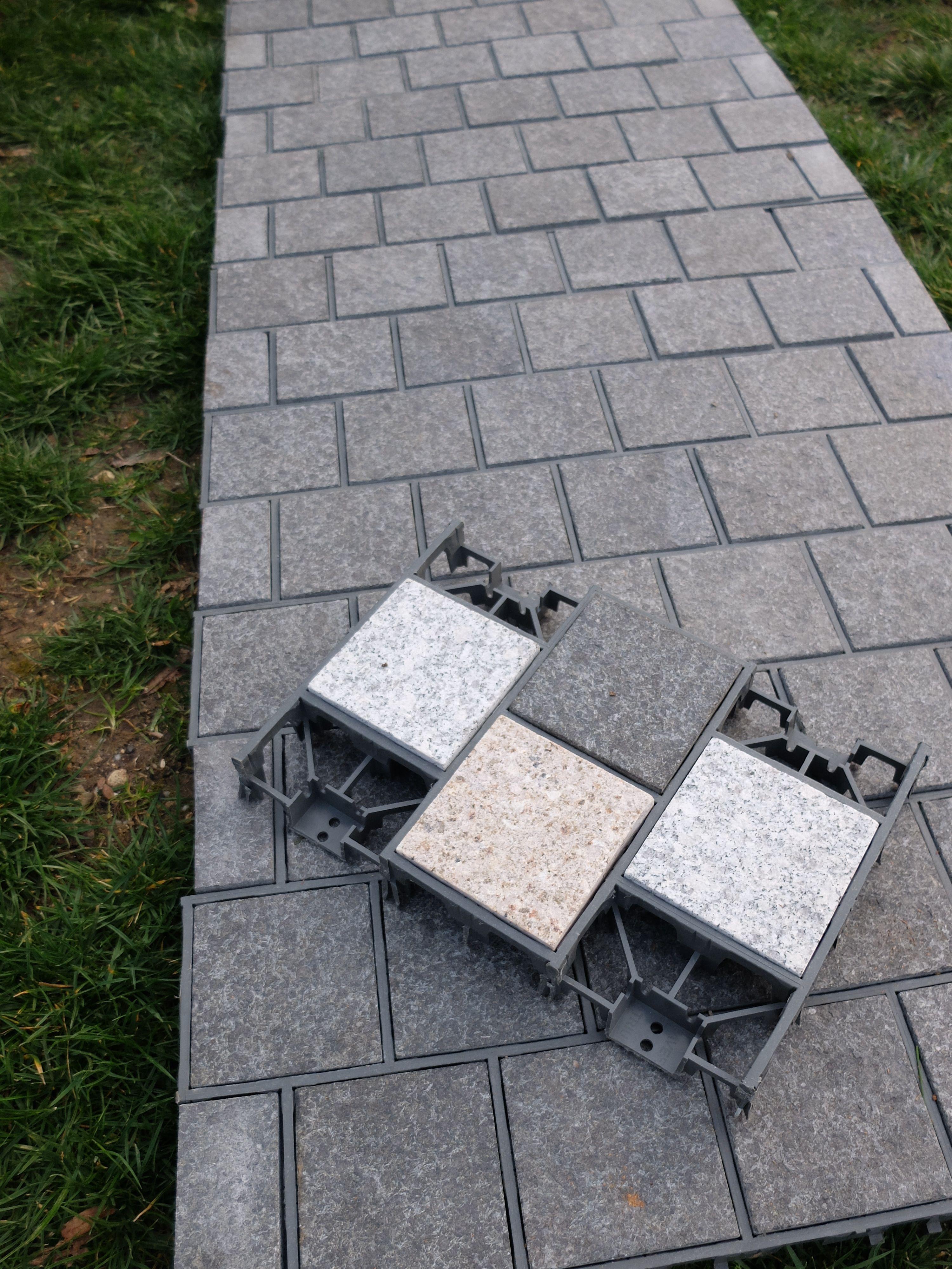 Creation De Terrasse Allee De Jardin En Paves Granit