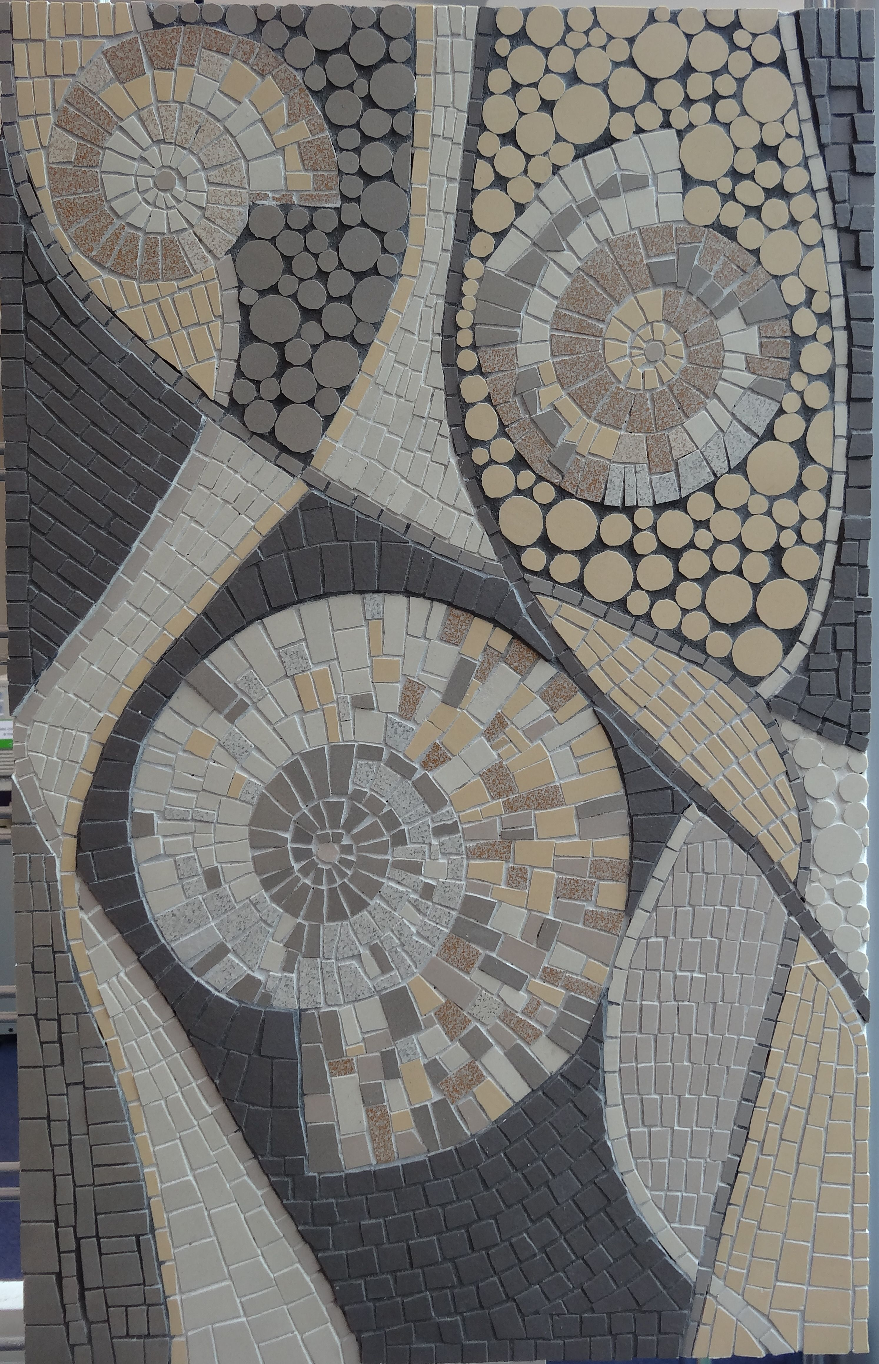 Mosaic exhibition in Saffron Walden