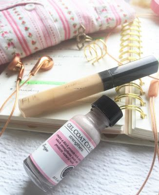 """Beauty Blogger Her Little Loves said, """"Perfect Formula's Greige has just been a dream to wear. My nails feel strong, healthy and it's the perfect new year neutral that goes with anything and everything (even my pyjamas, I kid you not)."""""""