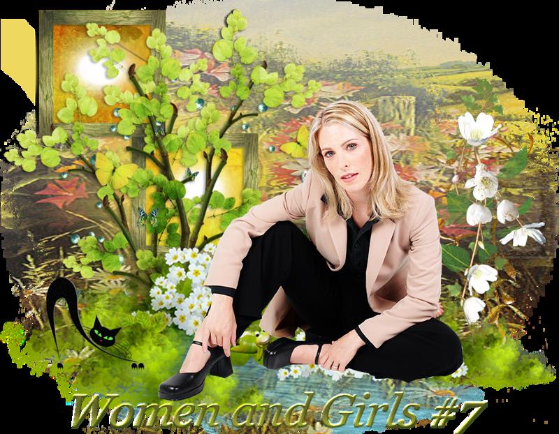 Design Wilds Cat: Женщины и девушки #7 Women and Girls #7