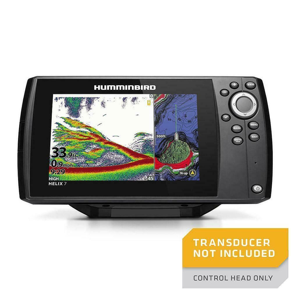 Ad Ebay Humminbird Helix 7 Chirp Mdi Gps G3n Cho 411070 1cho Humminbird Transducer Gps