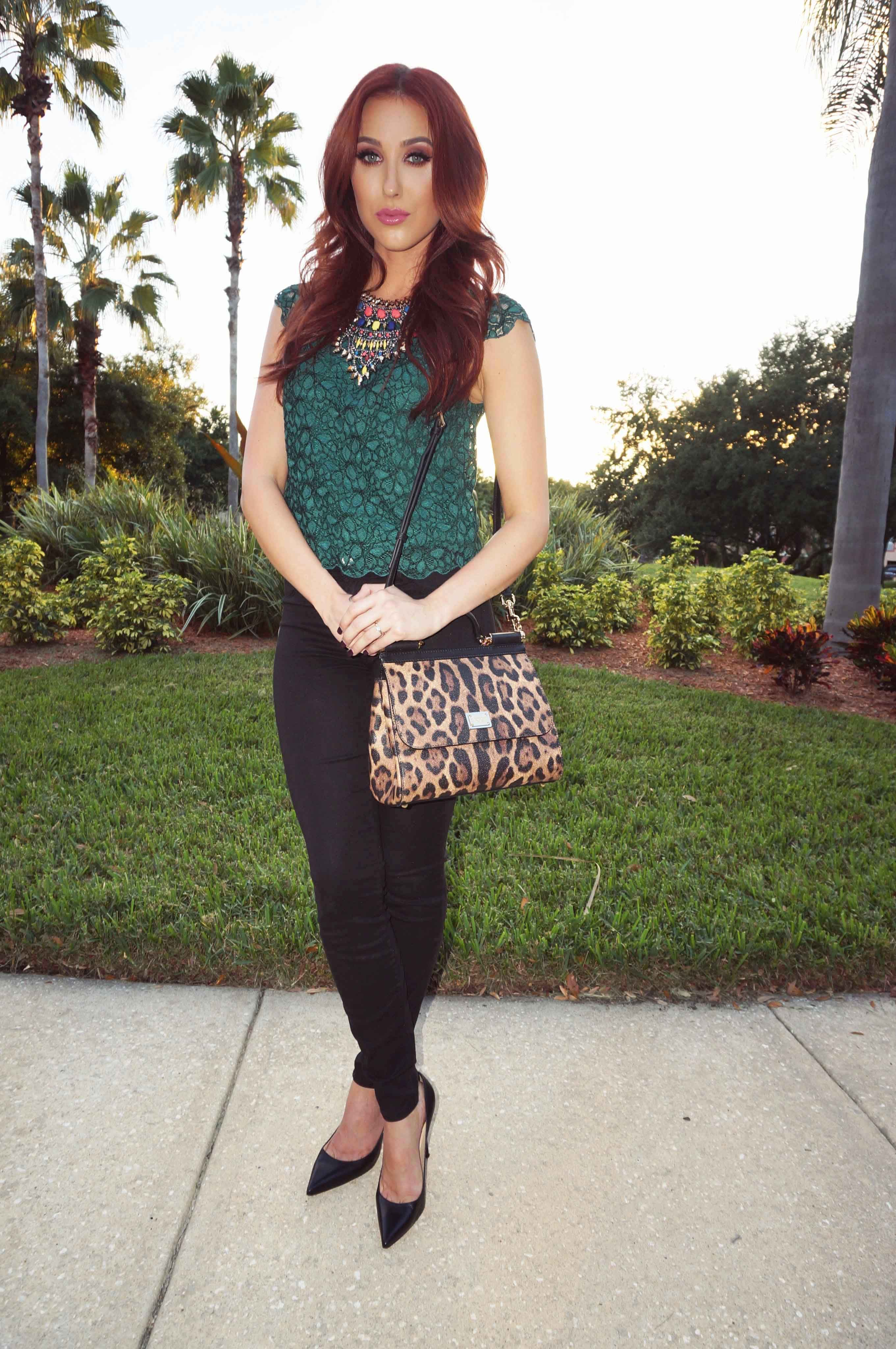 Makeup with emerald green dress  Jaclyn Hill Fashion  JACATTACK Love her  Pinterest  Fashion