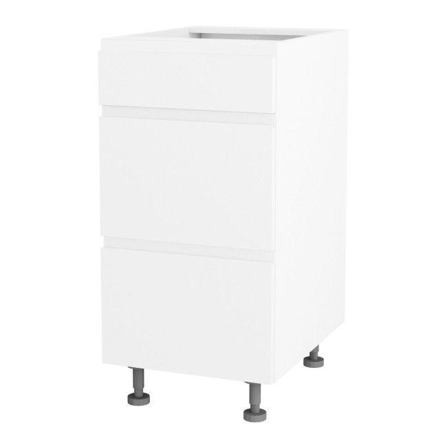 Szafka Kuchenna Dolna Z 3 Szufladami Unik Ds 40 3 Biala Cabinet Furniture Home Decor