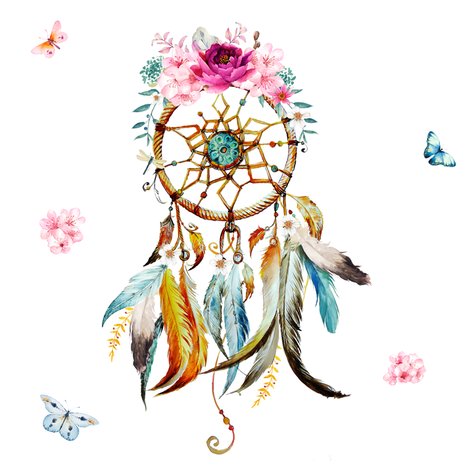 Colorful Fabrics Digitally Printed By Spoonflower 8 Dreaming Of Spring Dream Catcher In 2021 Dream Catcher Art Dream Catcher Dream Catcher Tattoo