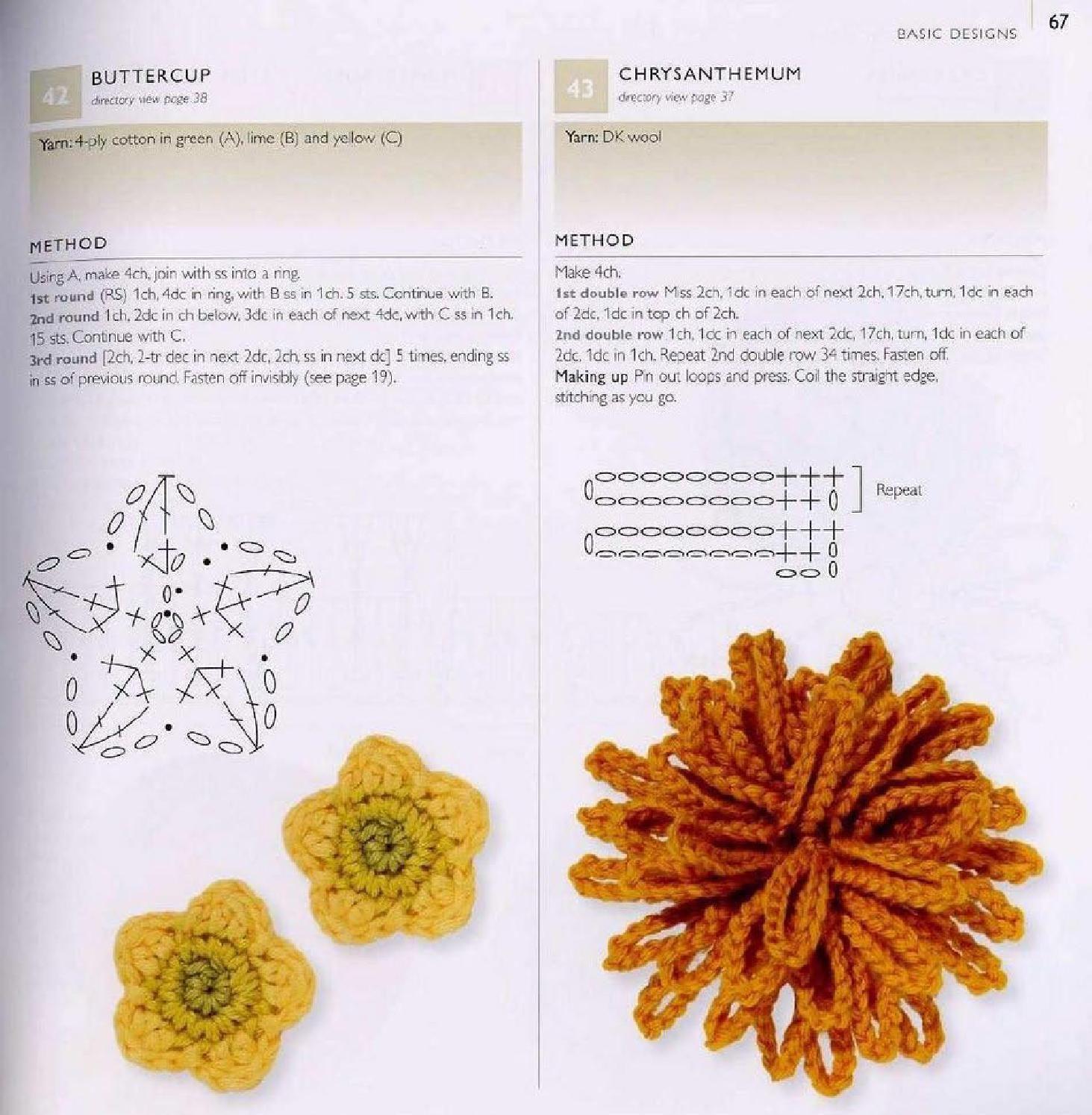 100 Flowers To Knit Crochet Crochet Crochet Leaves Crochet Rose