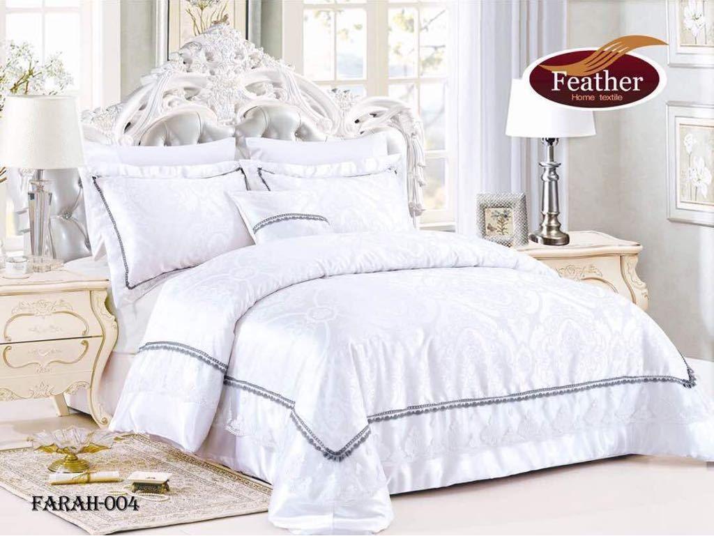 مفرش فرح أبيض Summer Bedding Bed Home
