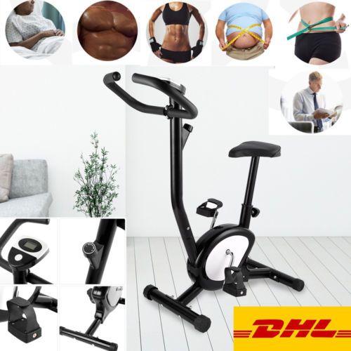 Ebay Fitness Geräte LCD Indoor Hometrainer Fahrradtrainer