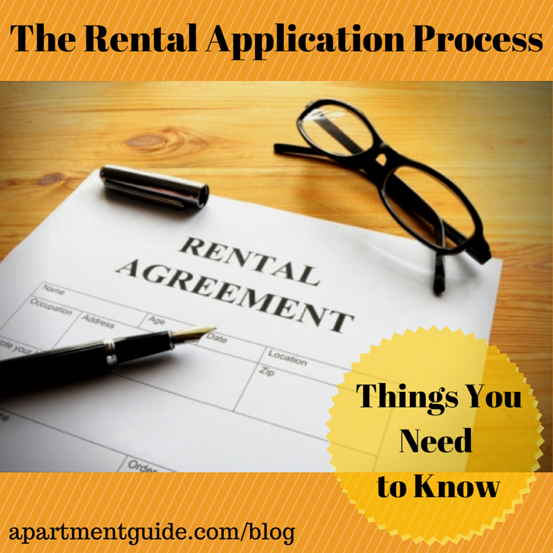 The Rental Application Process  If ItS Your First Time Renting