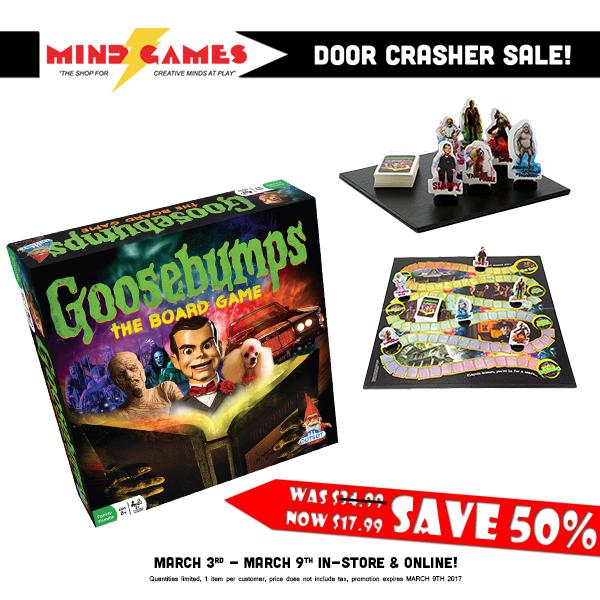 Goosebumps the Board Game Board games, Goosebumps, Mind