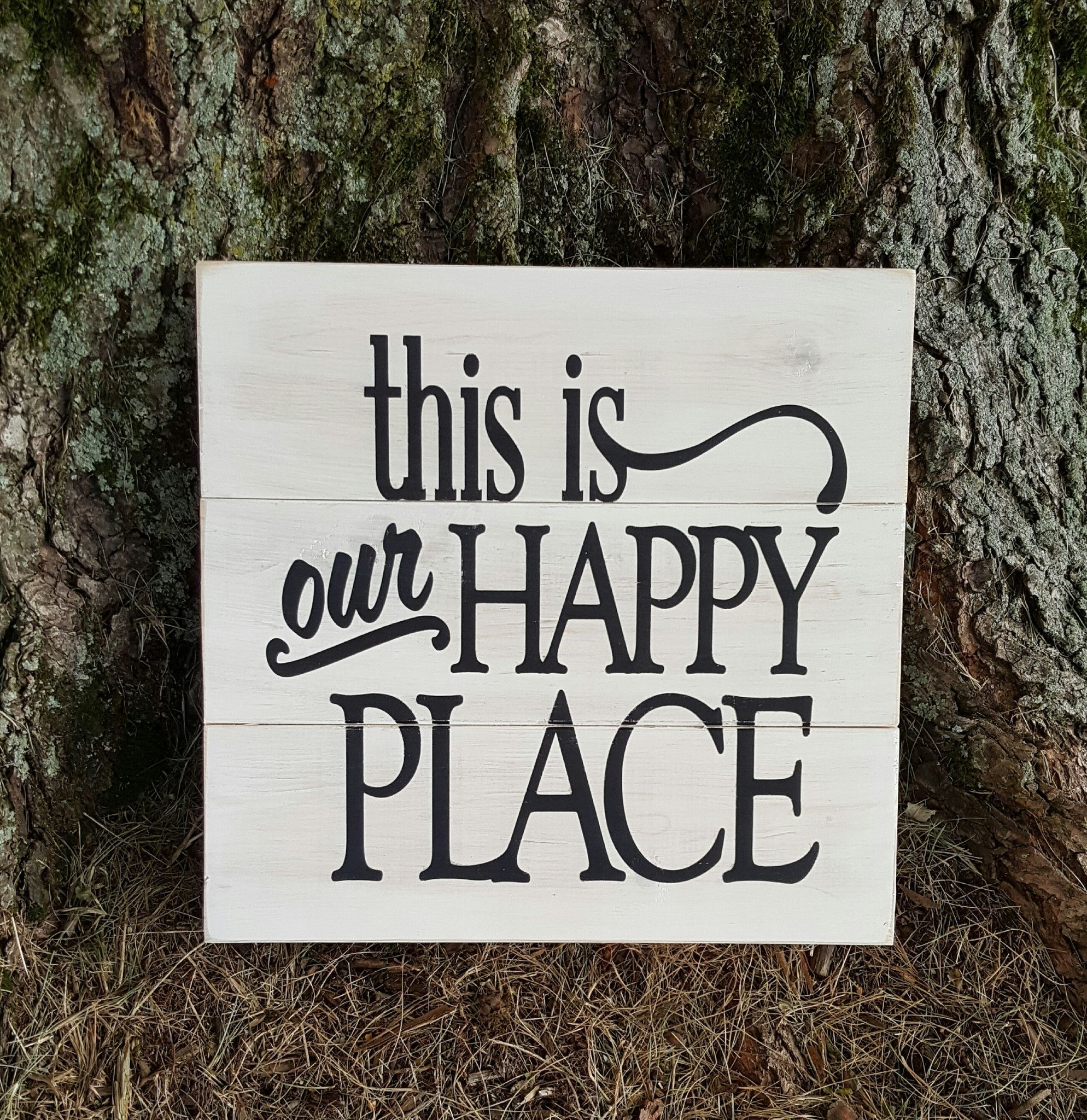105 x 11 wooden pallet sign great addition to your happy place or as - Christmas Pallet Signs