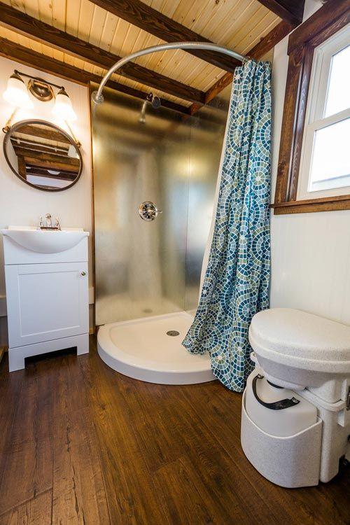 Bathroom - Julia's Tiny House by Mitchcraft Tiny Homes