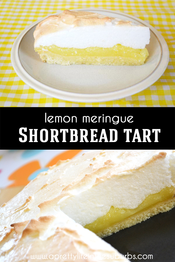 This Lemon Meringue Tart Is So Lemony Sweet And Delicious The Shortbread Crust Is A Tasty Twist On The Class In 2020 Lemon Meringue Tart Tart Food Processor Recipes