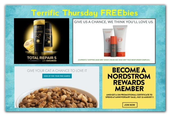 We search for FREEbies everyday because we know how much you love them! Make sure to share these free deals with all of your family and friends!