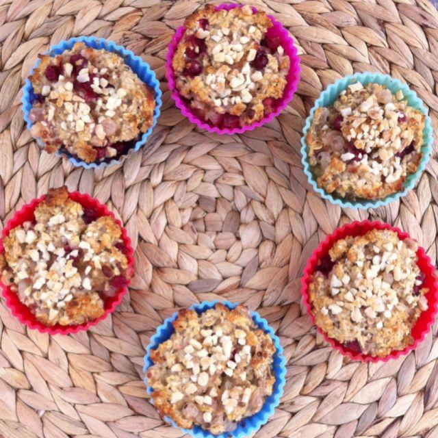 Johannisbeeren-Haferflocken-Muffins - inspiration4fitness