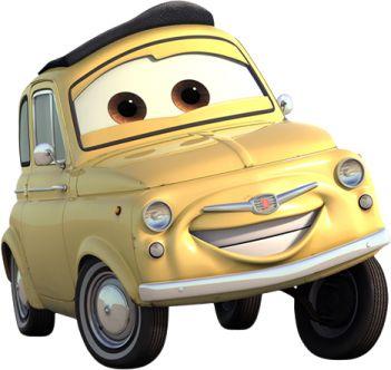 Disney Cars Luigi Cars Characters Disney Cars Characters