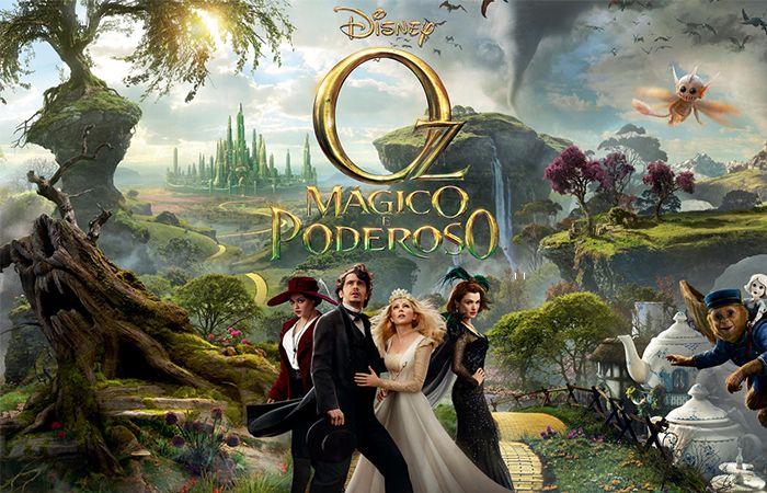 Fantástica aventura da Disney Oz The Great and Powerful dirigido por Sam Raimi, tenta contar como um mágico trapaceiro se tornou o grande Mágico de Oz, refazendo seus passos e contando sua história. Na onda dos prelúdios e recomeços que assolam Hollywood, esse é mais um, e conta com os mesmos produtores de Alice no País das Maravilhas.