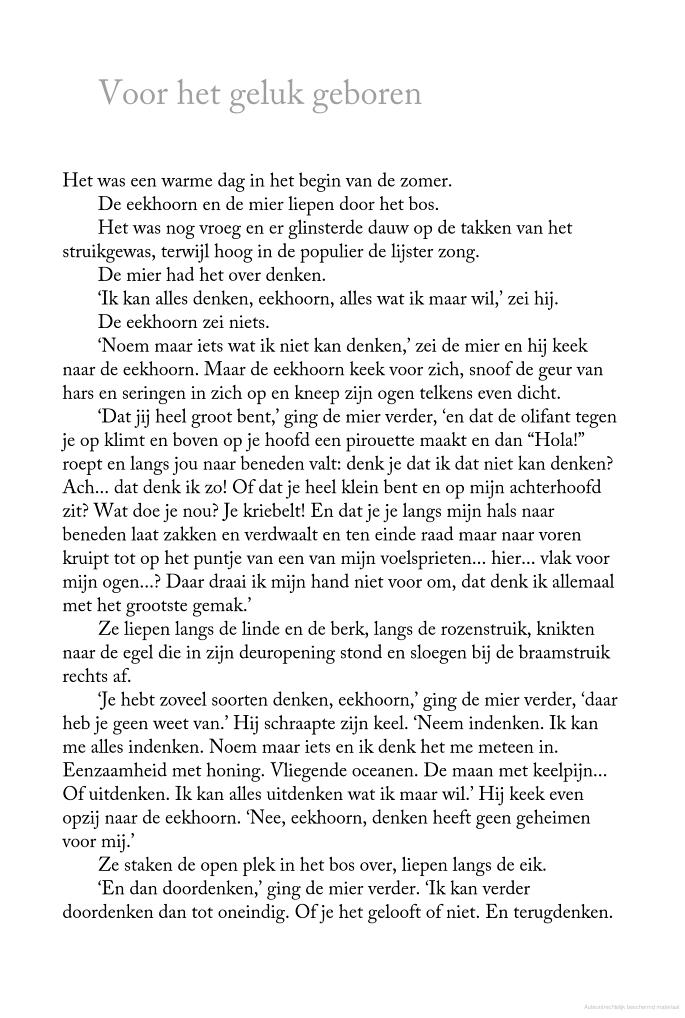 Uitgelezene Voor het geluk geboren: dierenverhalen over liefde - Toon Tellegen AC-06