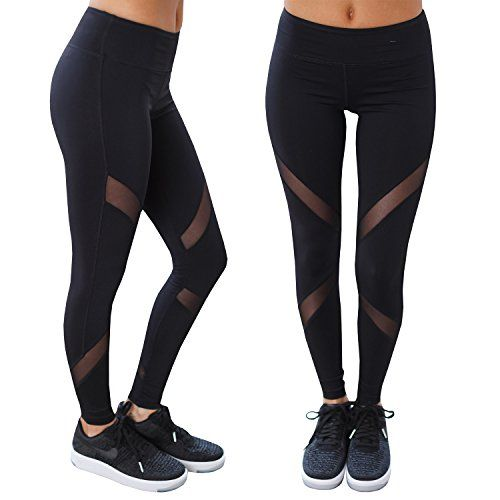 c334e63b37619e Women's Athletic Leggings - Imily Bela Womens Mesh Inset Gym Workout Sport  Leggings Yoga Fitness Pants Capris * Visit the image link more details.