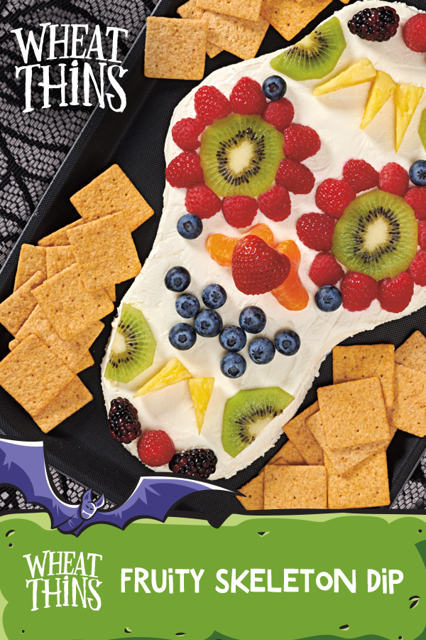 Fruity Skeleton Dip Recipe Halloween food for party